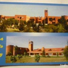 Postales: POSTAL POZUELO DE ALARCON CASA CRISTO REY PRINCIPAL Y FACHADA. Lote 287796358