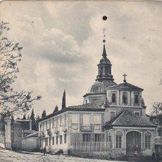 Postales: MADRID, ERMITA DE SAN ISIDRO. ED. HAUSER Y MENET Nº 1126. REVERSO SIN DIVIDIR. CIRCULADA EN 1903. Lote 288083543