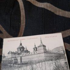Postales: ANTIGUA POSTAL, DEL ESCORIAL ,COLECCIÓN MORA Y HERMANOS, EL ESCORIAL. Lote 288174813