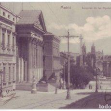 Cartoline: MADRID: CONGRESO DE LOS DIPUTADOS. MADRID POSTAL. CIRCULADA (AÑOS 10). Lote 288209588