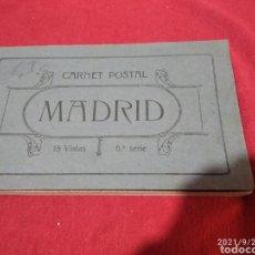 Postales: CARNET POSTAL MADRID ANTIGUAS POSTALES. Lote 288665533