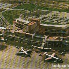 Postales: MADRID - 171 AEROPUERTO TRANSOCEÁNICO DE BARAJAS. Lote 288866148