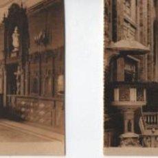 Postales: LOTE DE 16 POSTALES ANTIGUAS-SAN FRANCISCO EL GRANDE-MADRID-VER MAS FOTOS. Lote 289257803