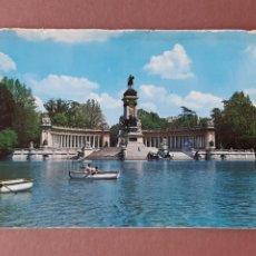 Postales: POSTAL 1021 GALLEGOS. ESTANQUE DEL RETIRO. MADRID. 1966. SIN CIRCULAR.. Lote 289332543