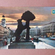 Postales: POSTAL 11 DOMÍNGUEZ. PUERTA DEL SOL. DETALLE. MADRID. 1975. CIRCULADA.. Lote 289333743