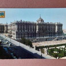Postales: POSTAL 19 DOMÍNGUEZ. ESCUDO DE ORO. FISA. PALACIO REAL. MADRID. 1966. SIN CIRCULAR.. Lote 289334188