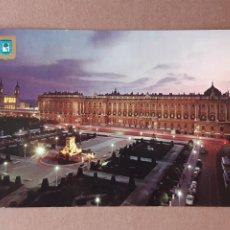 Postales: POSTAL 132 DOMÍNGUEZ. ESCUDO DE ORO. FISA. PLAZA DE ORIENTE Y PALACIO REAL. MADRID. 1964. CIRCULADA.. Lote 289337693