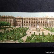 Postales: POSTAL PANORÁMICA * MADRID , PALACIO NACIONAL * 1958. Lote 289471633