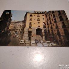 Postales: POSTAL MADRID ARCO DE CUCHILLEROS. Lote 289492788