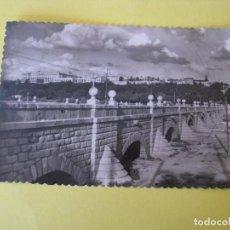 Postales: POSTAL FOTOGRÁFICA DE MADRID. PUENTE DE SEGOVIA. GARCIA GARRABELLA. CIRCULADA.. Lote 289620048
