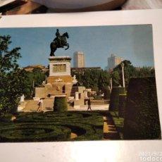Postales: POSTAL MADRID ESTATUA DE FELIPE LV. Lote 289639963