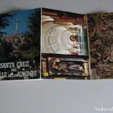 Postales: BLOC CON 10 POSTALES -- SANTA CRUZ DEL VALLE DE LOS CAIDOS -- MADRID. Lote 289710993
