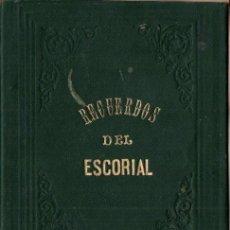 Postales: RECUERDOS DEL ESCORIAL - DOCE VISTAS ALBÚMINA. Lote 291858073