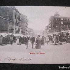 Postales: MADRID-EL RASTRO-P.Z. 10729-POSTAL ANTIGUA-(84.644). Lote 292100268