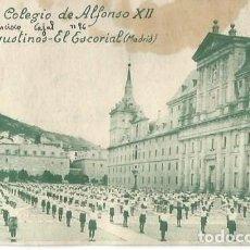 Postais: REAL COLEGIO DE ALFONSO XII. P.P. AGUSTINOS. EL ESCORIAL CIRCULADA. E CID.. Lote 292379763