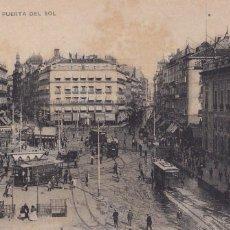 Postales: MADRID, PUERTA DEL SOL. ED. HAUSER Y MENET Nº 1. SIN CIRCULAR. Lote 292589298