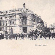 Postales: MADRID, CALLE DE ALCALÁ. ED. MADRID POSTAL Nº 888. REVERSO SIN DIVIDIR. SIN CIRCULAR. VER REVERSO. Lote 292595678