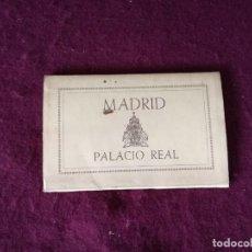 Postais: ANTIGUO LIBRITO CON 8 POSTALES EN ACORDEÓN DE MADRID, PALACIO REAL, SERIE 1. Lote 293303488