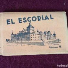 Postais: ANTIGUO LIBRITO CON 15 POSTALES EN ACORDEÓN DE EL ESCORIAL. Lote 293307853