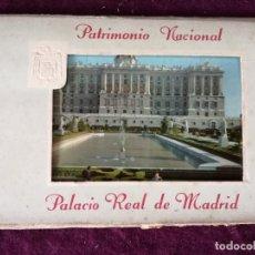 Postais: ANTIGUO LIBRITO CON 6 POSTALES EN ACORDEÓN DE EL PALACIO REAL DE MADRID, PATRIMONIO NACIONAL, Nº2. Lote 293308513