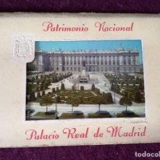 Postais: ANTIGUO LIBRITO CON 6 POSTALES EN ACORDEÓN DE EL PALACIO REAL DE MADRID, PATRIMONIO NACIONAL, Nº1. Lote 293308663
