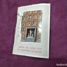 Postais: ANTIGUO LIBRITO CON 9 POSTALES EN ACORDEÓN DE IGLESIA DE SANTA RITA, MADRID. G. GARRABELLA. Lote 293366173