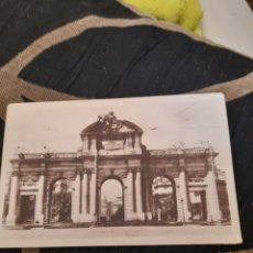Postales: ANTIGUA POSTAL, FOTOTIPIA DE HAUSER Y MENET, PUERTA DE ALCALÁ. Lote 293771903