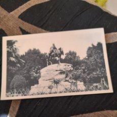 Postales: ANTIGUA POSTAL, FOTOTIPIA DE HAUSER Y MENET, MONUMENTO AL GENERAL MARTÍNEZ CAMPIS ,MADRID. Lote 293772223