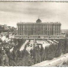 Postales: MADRID PALACIO REAL ESCRITA. Lote 294015653