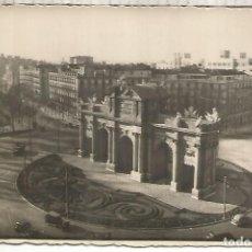 Postales: MADRID PUERTA DE ALCALA ESCRITA. Lote 294016053