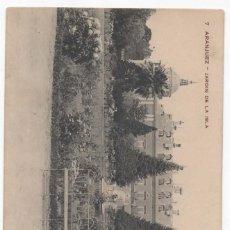 Postales: POSTAL- ARANJUEZ- JARDIN DE LA ISLA. Lote 294566733