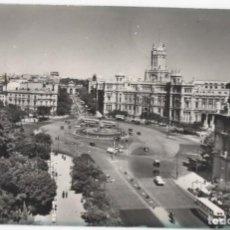Postales: POSTAL- MADRID- CIBELES Y PALACIO DE COMUNICACIONES. Lote 294567298