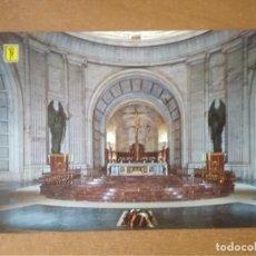 Postales: VALLE DE LOS CAÍDOS (MADRID) - CRIPTA-BASÍLICA. ALTAR MAYOR. Lote 294817093