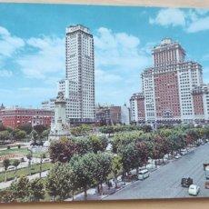 Postales: POSTAL MADRID 41. PLAZA DE ESPAÑA.. Lote 294848343