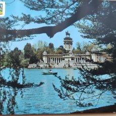 Postales: POSTAL MADRID ESTANQUE DEL RETIRO. 77.. Lote 294856253