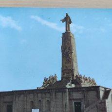 Postales: POSTAL CERRO DE LOS ÁNGELES. MONUMENTO AL SAGRADO CORAZÓN. Lote 294856963