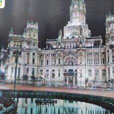 Postales: POSTAL MADRID. PALACIO DE COMUNICACIONES. VISTA NOCTURNA. Lote 294857398
