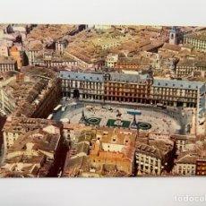 Postales: MADRID. POSTAL PLAZA MAYOR, IBERIA. LÍNEAS AÉREAS DE ESPAÑA (H.1960?) DEDICADA... Lote 295609898