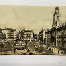 Postales: MADRID POSTAL ANIMADA NO.30 PUERTA DEL SOL EDITA: HELIOTOPIA ARTÍSTICA ESPAÑOLA (H.1950?). Lote 295612998