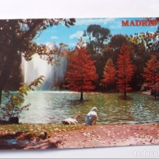 Postales: POSTAL - MADRID - PARQUE DEL RETIRO ESTANQUE - OTOÑO 2174 - S/C. Lote 295682543