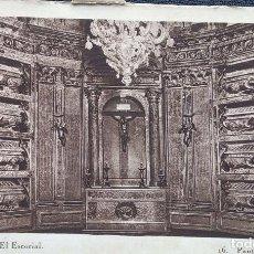 Postales: MONASTERIO DE EL ESCORIAL. 16 PANTEÓN DE REYES. HAUSER Y MENET. NUEVA. BLANCO/NEGRO. Lote 296554523