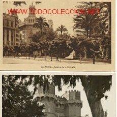 Postales - TRES POSTALES ANTIGUAS DE VALENCIA - 26629237