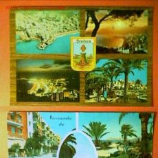 Postales: DOS POSTALES DE BENIDORM. Lote 16902909