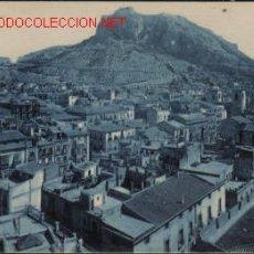 Postales: TARJETA POSTAL ANTIGUA DE ALICANTE Nº40 - CASTILLO DE SANTA BARBARA. Lote 16966122