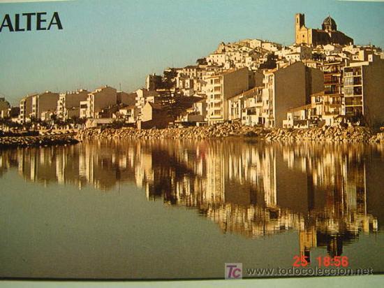 400 ALTEA ALICANTE MAS EN MI TIENDA TODOCOLECCION COSAS&CURIOSAS (Postales - España - Comunidad Valenciana Moderna (desde 1940))