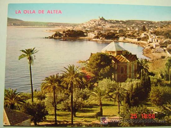 401 ALTEA ALICANTE MAS EN MI TIENDA TODOCOLECCION COSAS&CURIOSAS (Postales - España - Comunidad Valenciana Moderna (desde 1940))