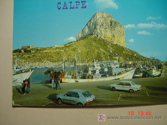 9898 CALPE ALICANTE MIRA CIENTOS DE POSTALES EN MI TIENDA TC COSAS&CURIOSAS (Postales - España - Comunidad Valenciana Moderna (desde 1940))