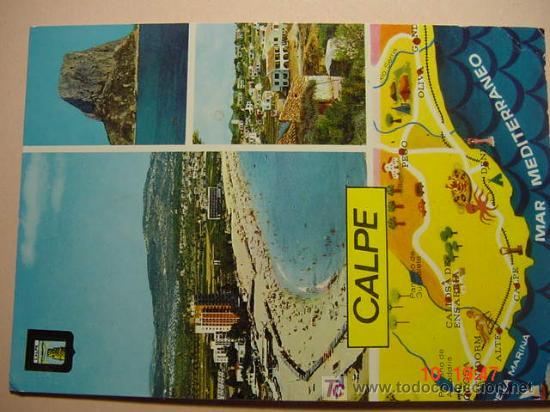 9901 CALPE ALICANTE MIRA CIENTOS DE POSTALES EN MI TIENDA TC COSAS&CURIOSAS (Postales - España - Comunidad Valenciana Moderna (desde 1940))