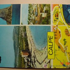 Postales: 9901 CALPE ALICANTE MIRA CIENTOS DE POSTALES EN MI TIENDA TC COSAS&CURIOSAS. Lote 3414358