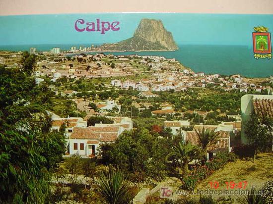 9904 CALPE ALICANTE MIRA CIENTOS DE POSTALES EN MI TIENDA TC COSAS&CURIOSAS (Postales - España - Comunidad Valenciana Moderna (desde 1940))